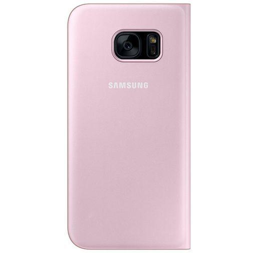 Productafbeelding van de Samsung Flip Wallet Pink Galaxy S7