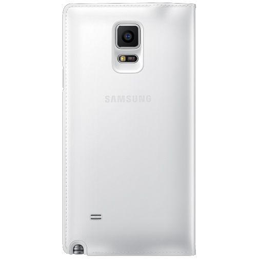 Productafbeelding van de Samsung Flip Wallet White Classic Edition Galaxy Note 4