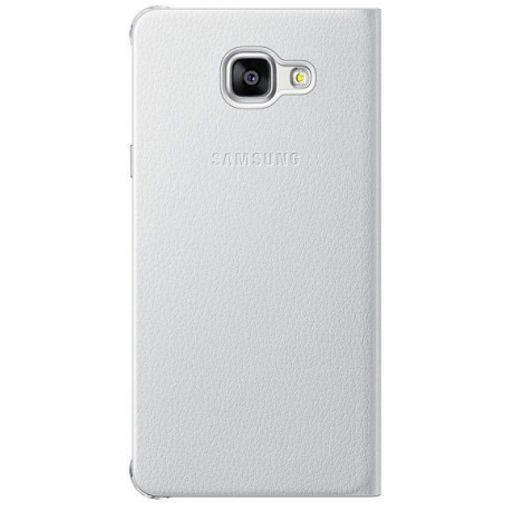 Productafbeelding van de Samsung Flip Wallet White Galaxy A5 (2016)