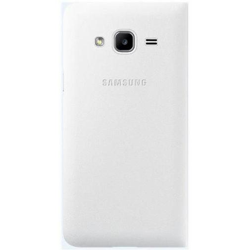 Productafbeelding van de Samsung Flip Wallet White Galaxy J1 (2016)