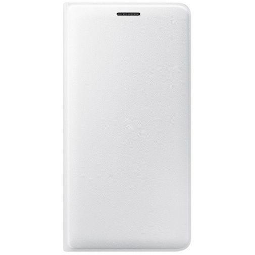 Productafbeelding van de Samsung Flip Wallet White Galaxy J3 (2016)