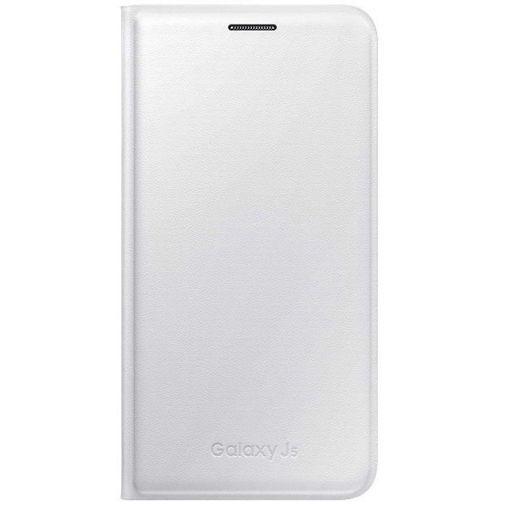 Productafbeelding van de Samsung Flip Wallet White Galaxy J5