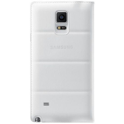 Productafbeelding van de Samsung Flip Wallet White Galaxy Note 4
