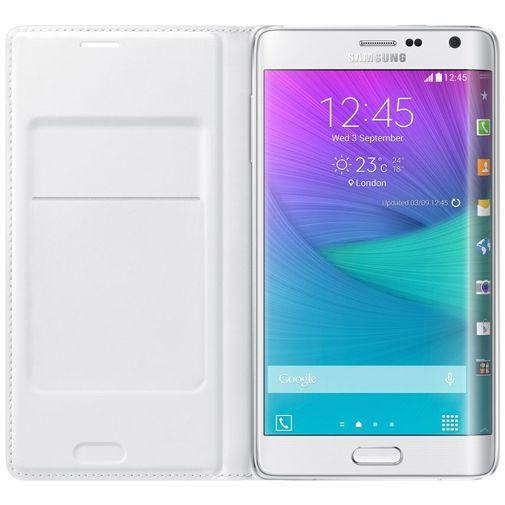 Productafbeelding van de Samsung Flip Wallet White Galaxy Note Edge