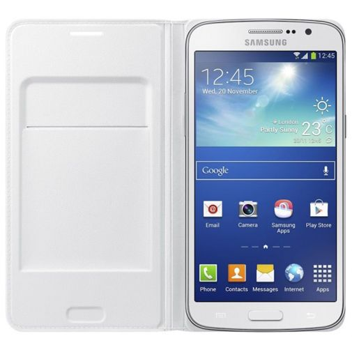 Productafbeelding van de Samsung Galaxy Grand 2 Flip Wallet White