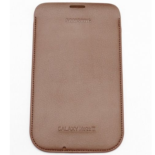 Productafbeelding van de Samsung Galaxy Note 2 Pouch Choc Brown