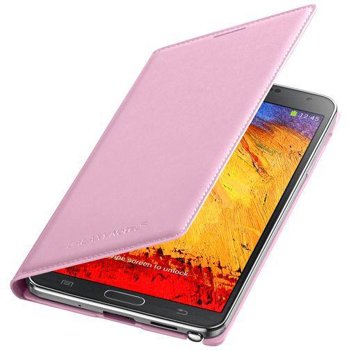 Productafbeelding van de Samsung Galaxy Note 3 Flip Wallet Pink