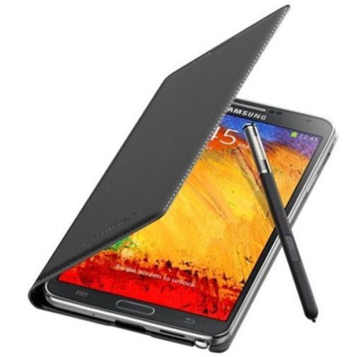 Productafbeelding van de Samsung Galaxy Note 3 Neo Flip Wallet Black