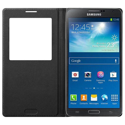 Productafbeelding van de Samsung Galaxy Note 3 Neo S View Cover Black