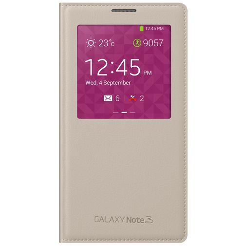 Productafbeelding van de Samsung Galaxy Note 3 S-View Cover Beige