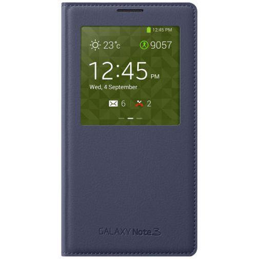 Productafbeelding van de Samsung Galaxy Note 3 S-View Cover Indigo Blue
