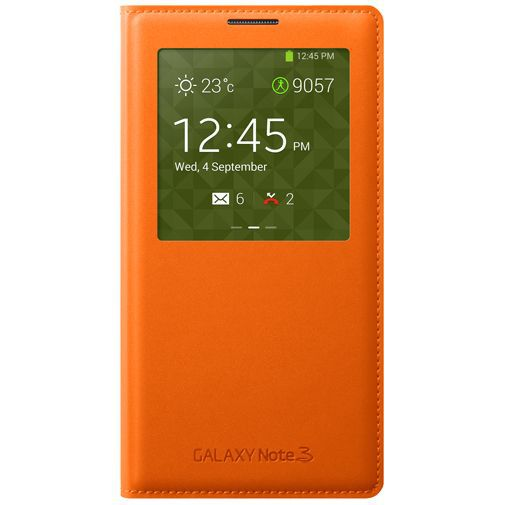 Productafbeelding van de Samsung Galaxy Note 3 S-View Cover Orange
