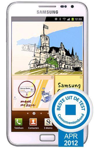 Productafbeelding van de Samsung Galaxy Note N7000 White