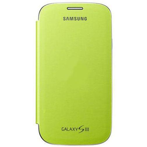 Productafbeelding van de Samsung Galaxy S3 (Neo) Flip Cover Green