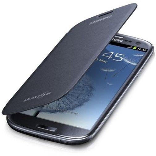 Productafbeelding van de Samsung Galaxy S3 (Neo) Flip Cover Pebble Blue