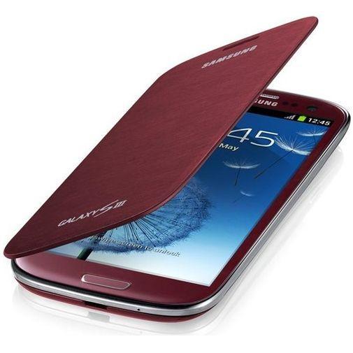 Productafbeelding van de Samsung Galaxy S3 (Neo) Flip Cover Red