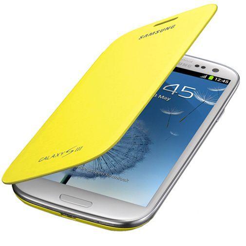 Productafbeelding van de Samsung Galaxy S3 (Neo) Flip Cover Yellow