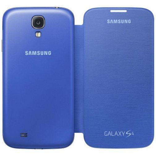 Productafbeelding van de Samsung Galaxy S4 Flip Cover Light Blue
