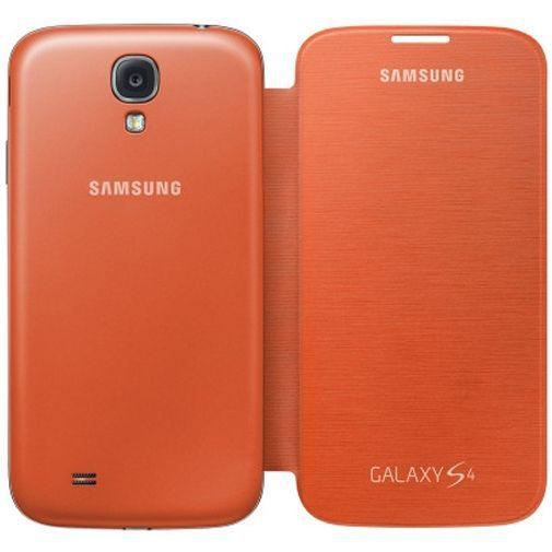Productafbeelding van de Samsung Galaxy S4 Flip Cover Orange