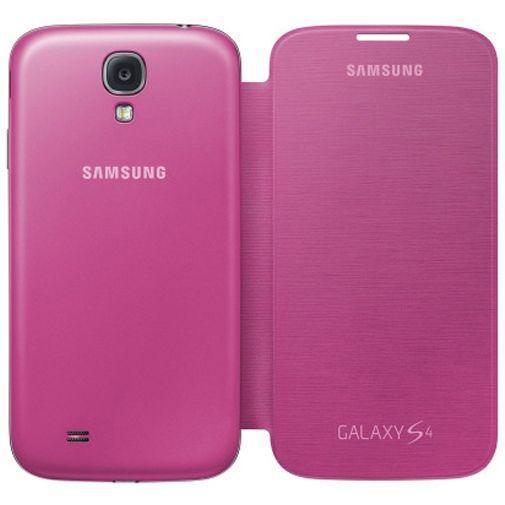 Productafbeelding van de Samsung Galaxy S4 Flip Cover Pink