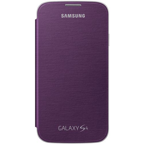Productafbeelding van de Samsung Galaxy S4 Flip Cover Purple