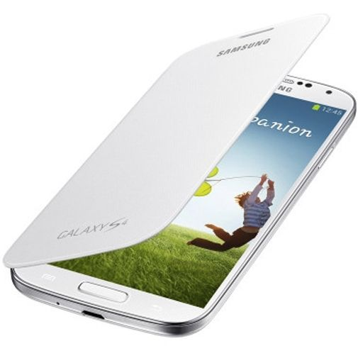 Productafbeelding van de Samsung Galaxy S4 Flip Cover White
