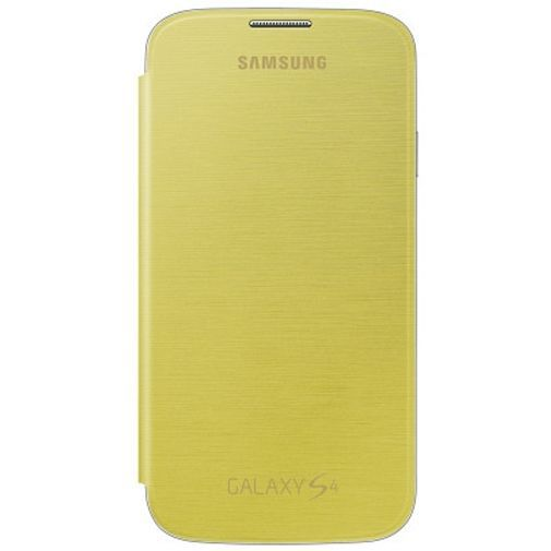 Productafbeelding van de Samsung Galaxy S4 Flip Cover Yellow