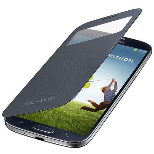 Productafbeelding van de Samsung Galaxy S4 Mini (VE) S-View Cover Black