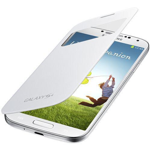 Productafbeelding van de Samsung Galaxy S4 Mini (VE) S-View Cover White