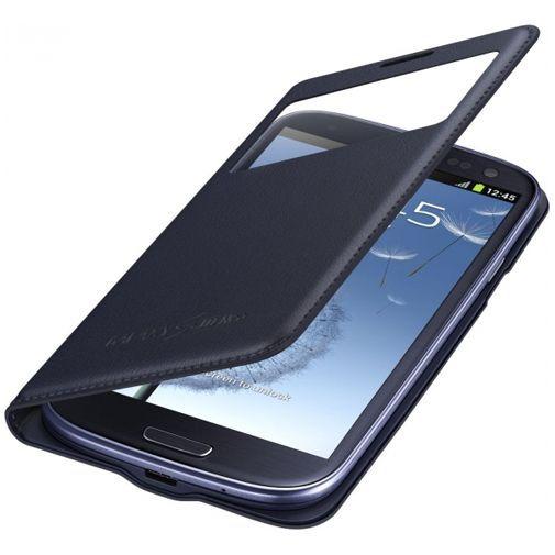 Productafbeelding van de Samsung Galaxy S3 Neo S-View Cover Blue