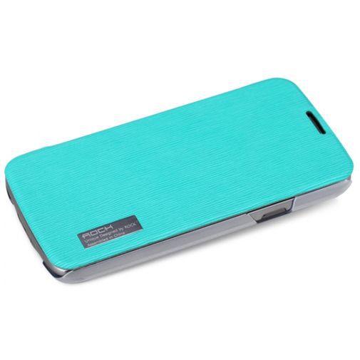 Productafbeelding van de Rock Side Flip Case Samsung Galaxy S4 Active Elegant Shell Turquoise