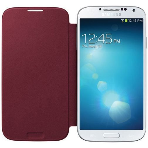 Productafbeelding van de Samsung Galaxy S4 Flip Cover Red