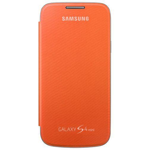 Productafbeelding van de Samsung Galaxy S4 Mini Flip Cover Orange