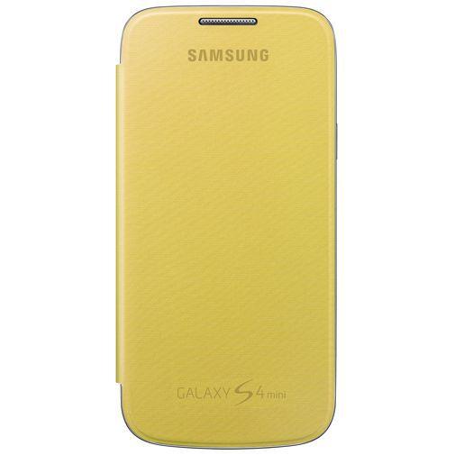 Productafbeelding van de Samsung Galaxy S4 Mini (VE) Flip Cover Yellow