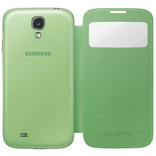 Productafbeelding van de Samsung Galaxy S4 S-View Cover Green