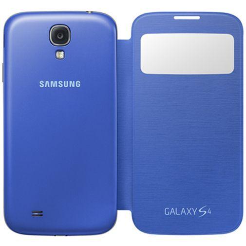 Productafbeelding van de Samsung Galaxy S4 S-View Cover Rigel Blue