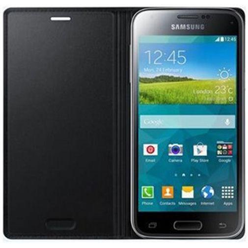 Productafbeelding van de Samsung Galaxy S5 Mini Flip Cover Black