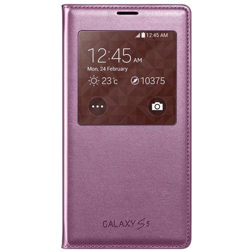 Productafbeelding van de Samsung S View Cover Pink Galaxy S5/S5 Plus/S5 Neo