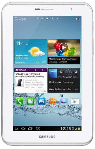 Productafbeelding van de Samsung Galaxy Tab 2 7.0 P3110 WiFi White