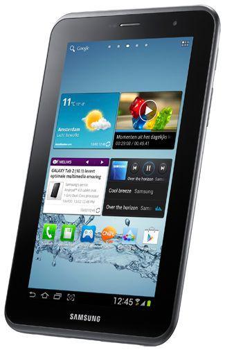 Productafbeelding van de Samsung Galaxy Tab 2 7.0 P3110 WiFi Silver