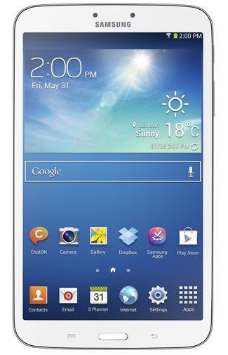 Productafbeelding van de Samsung Galaxy Tab 3 8.0 SM-T315 WiFi + 4G White
