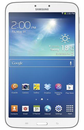 Productafbeelding van de Samsung Galaxy Tab 3 8.0 T3100 WiFi 16GB White