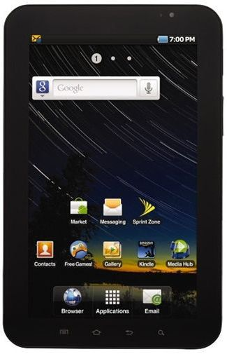 Productafbeelding van de Samsung Galaxy Tab 8.9 P7310 16GB WiFi Black