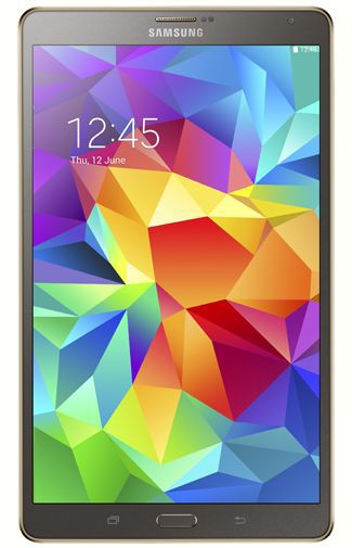 Productafbeelding van de Samsung Galaxy Tab S 8.4 T705 16GB 4G Titanium Bronze