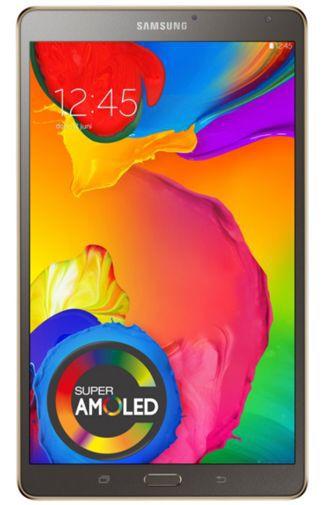 Productafbeelding van de Samsung Galaxy Tab S 8.4 T700 16GB WiFi Titanium Bronze