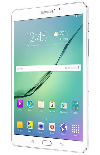 Productafbeelding van de Samsung Galaxy Tab S2 8.0 T719 WiFi + 4G White