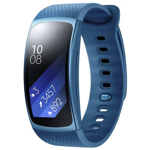Produktimage des Samsung Gear Fit 2 Large SM-R360 Blau