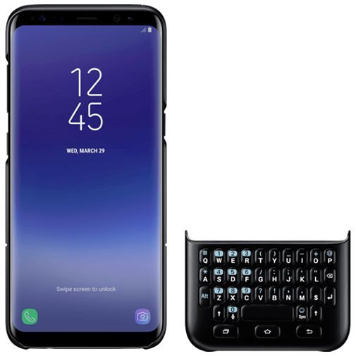 Productafbeelding van de Samsung Keyboard Cover Black Galaxy S8