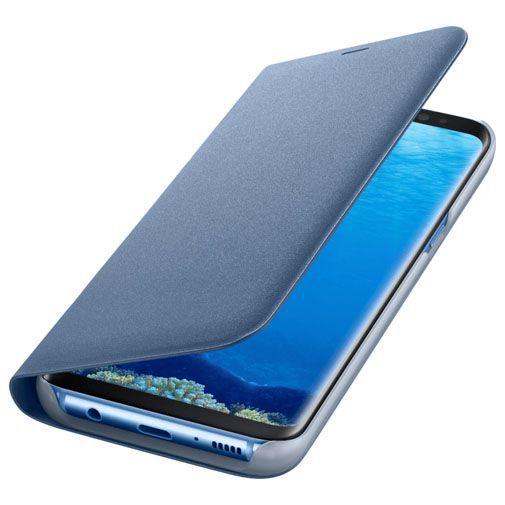 Productafbeelding van de Samsung LED View Cover Blue Galaxy S8