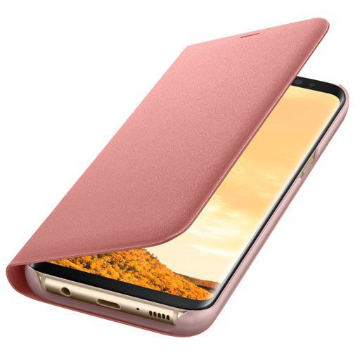 Productafbeelding van de Samsung LED View Cover Pink Galaxy S8